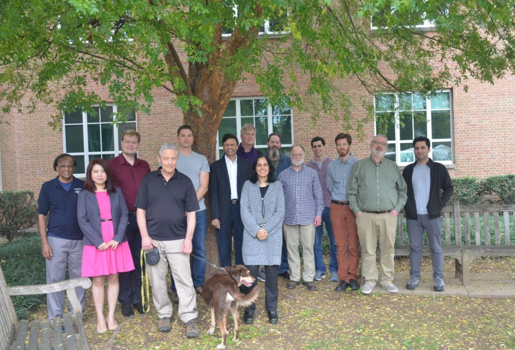 Computer Science Department Faculty under a tree